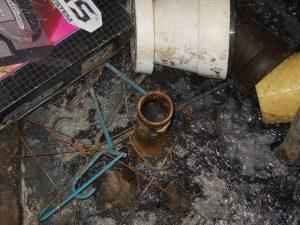 Basement Sewage Damage