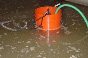 Flooded Crawlspace