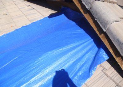 Roof Leak Tarp